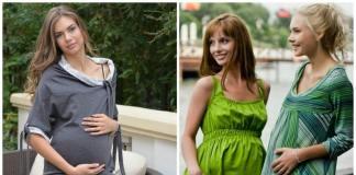 как одеваться в период беременности