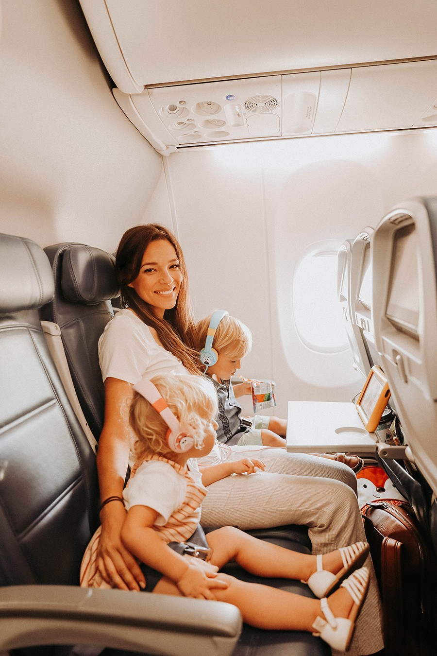 мама-самолет-дети