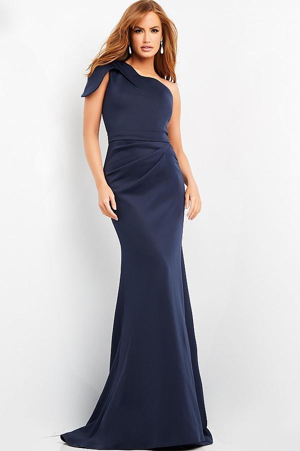 синее платье красивое на праздник