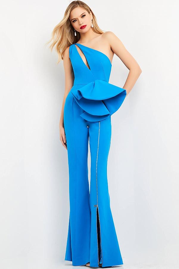 костюм женский голубой красивый праздничный