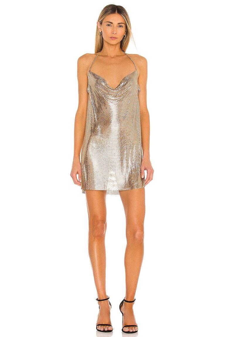 короткое блестящее платье клубное мини