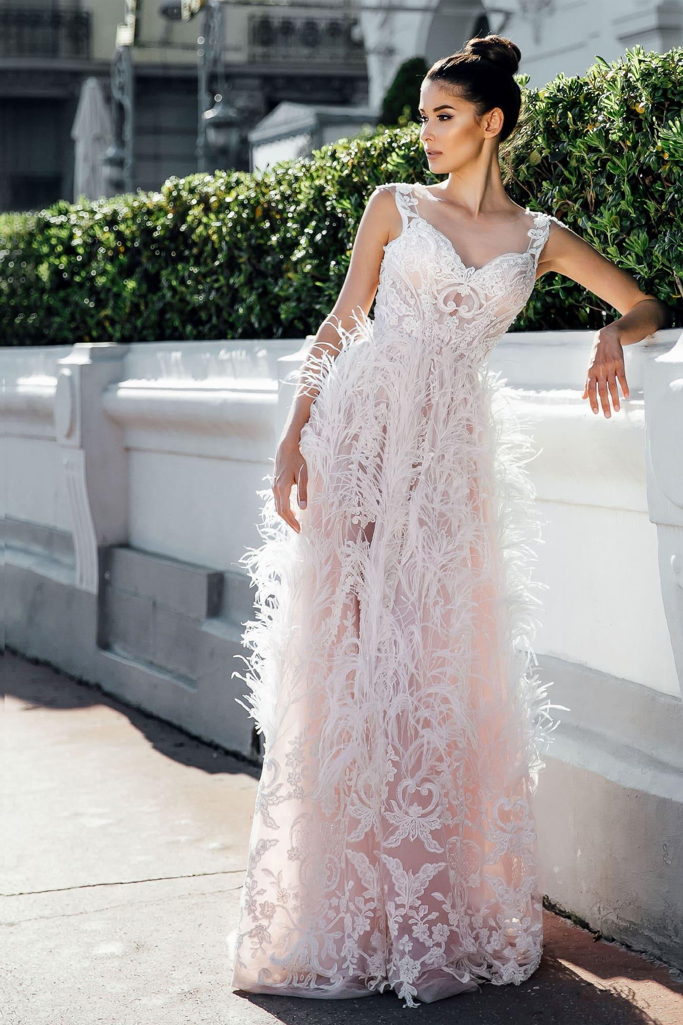 свадебные платья длинные красивые 2021