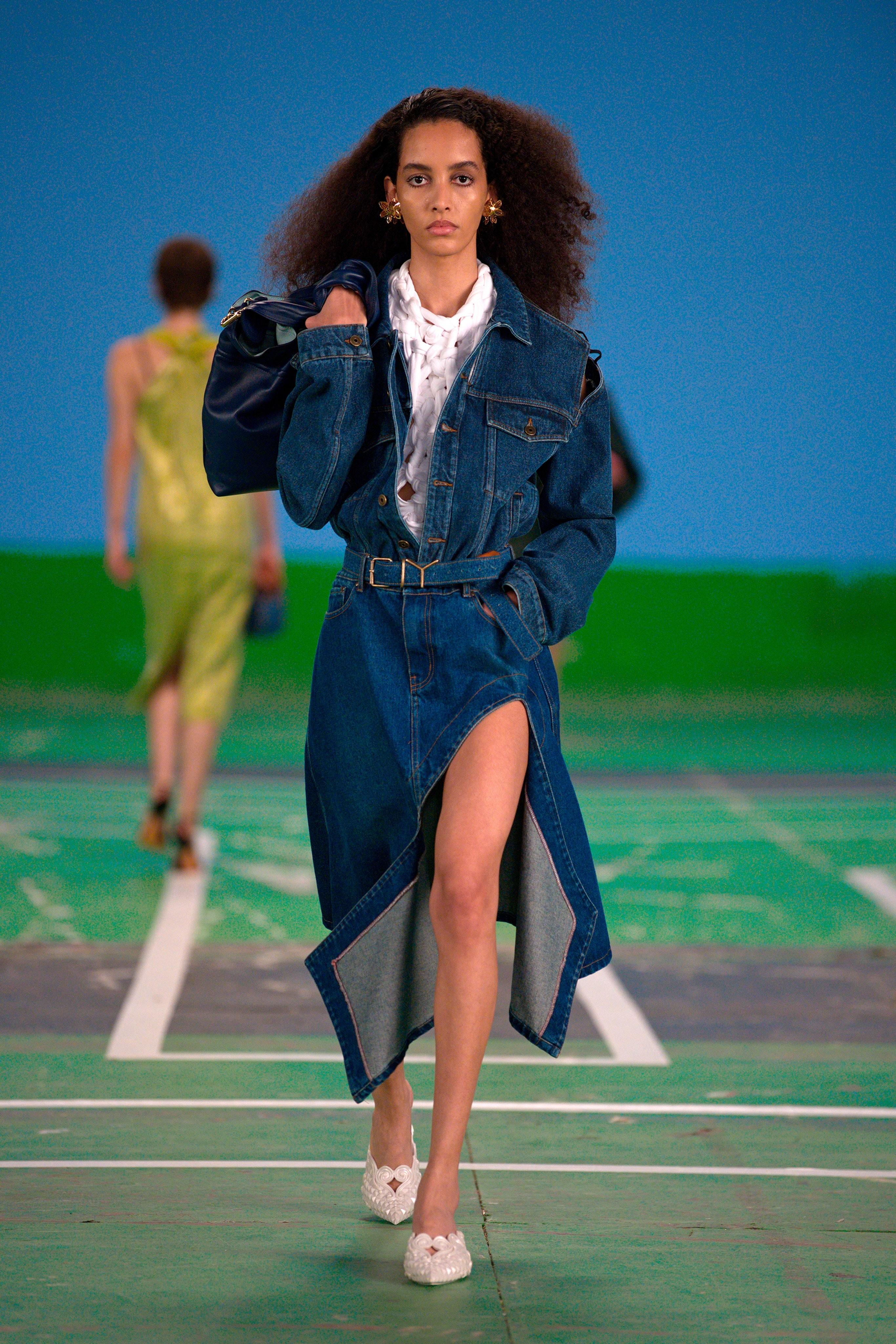 платья джинсовое 2022