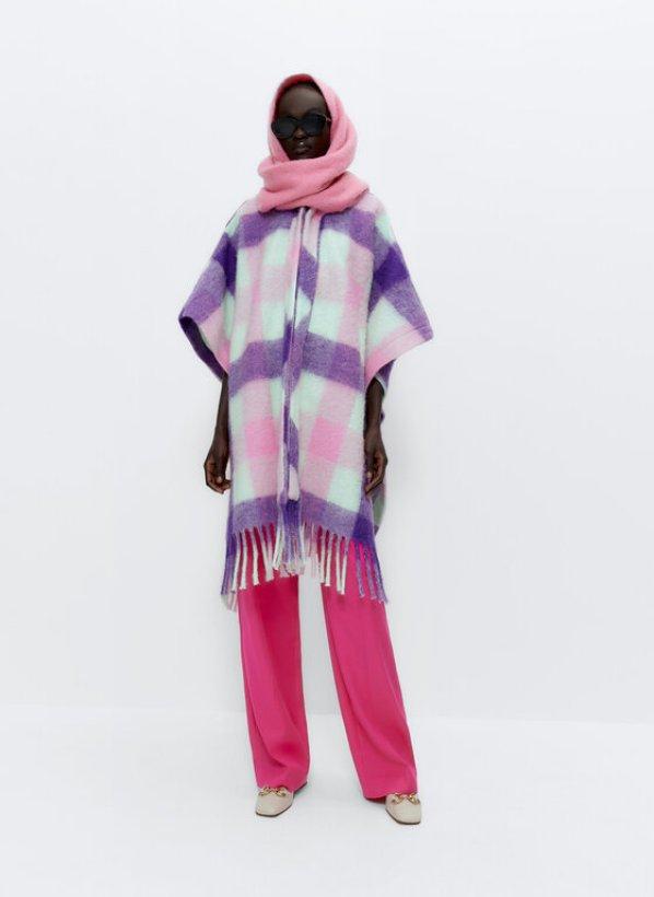 шарф женский очки штаны мода стиль