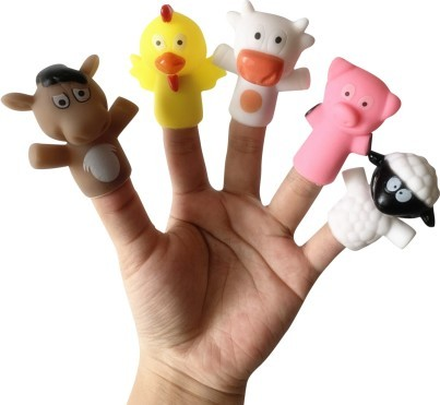 куклы перчатки